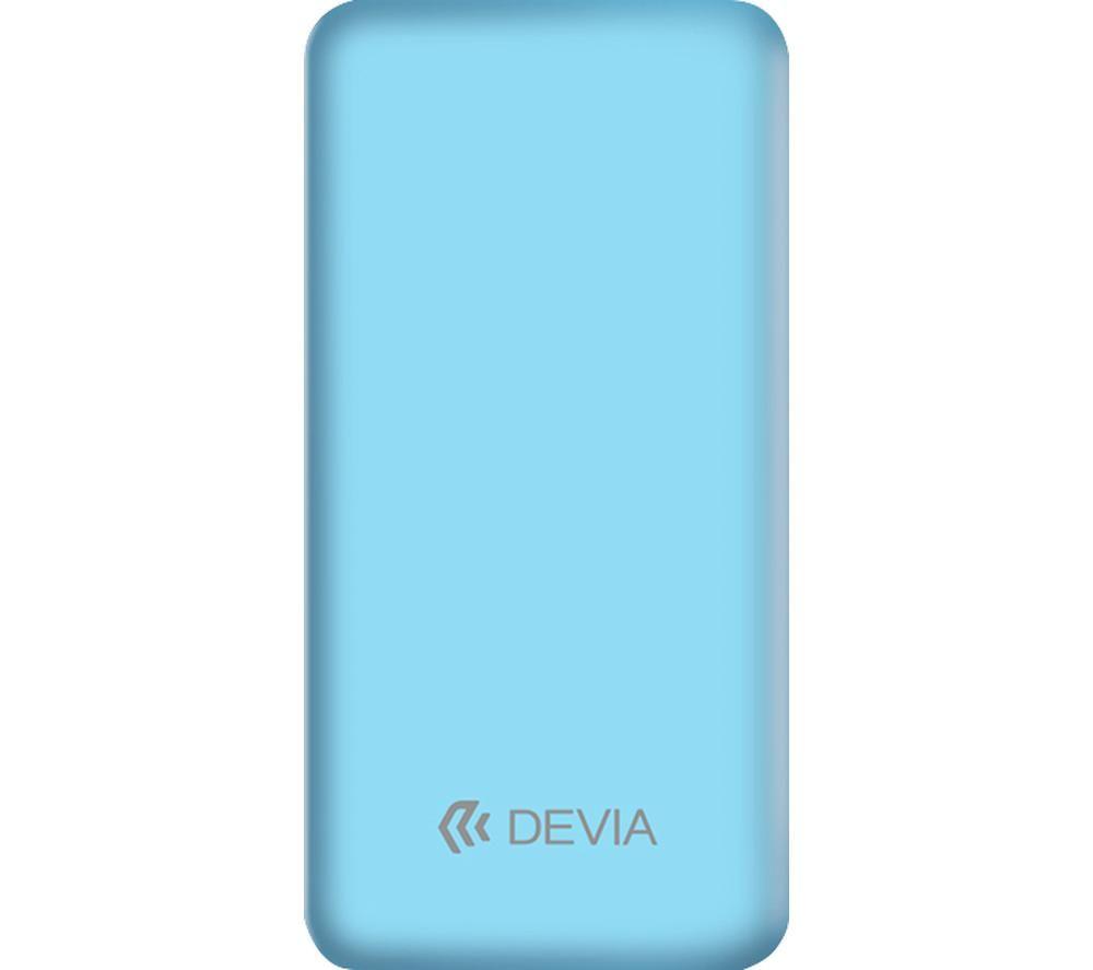 Image of DEVIA DEV-SMARTV3-POW10-BLU Portable Power Bank - Blue, Blue