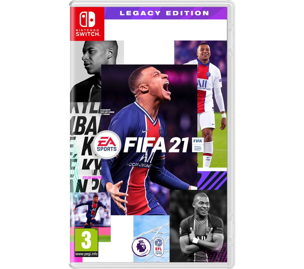 NINTENDO SWITCH FIFA 21 Legacy Edition