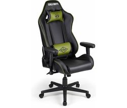 Call of Duty: Black Ops Cold War Gaming Chair - Black & Green