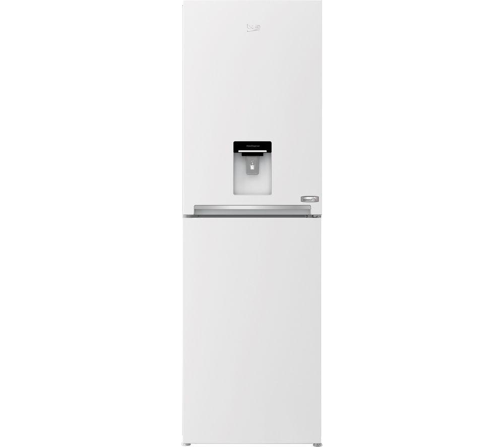 Image of BEKO HarvestFresh CFG3691DVW 50/50 Fridge Freezer - White, White