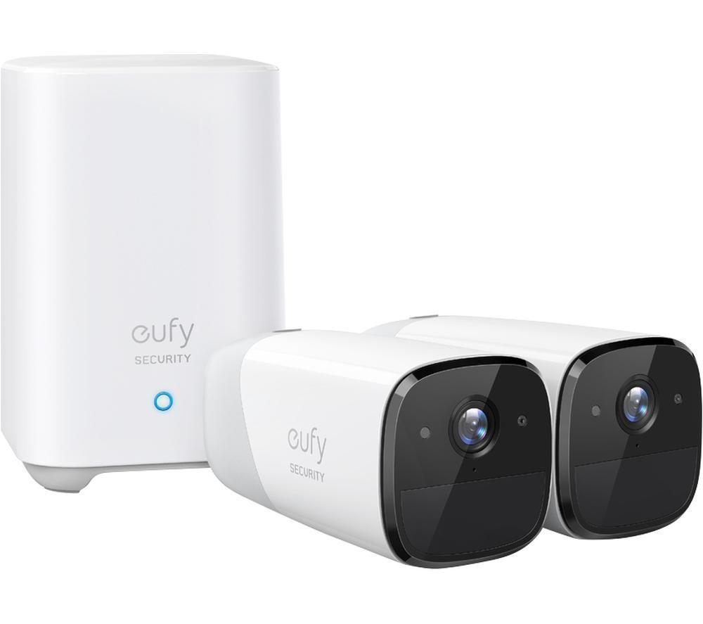 EUFY Cam 2 T88413D2 Smart Security Camera System - 2 Cameras