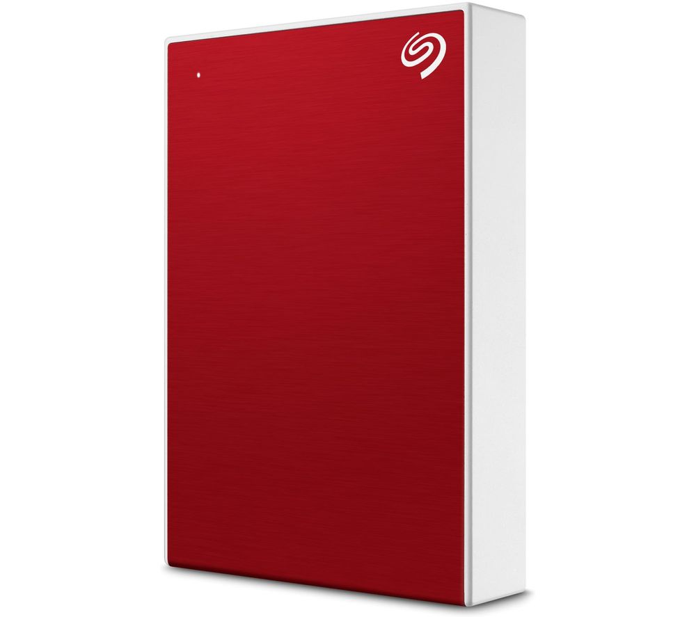 SEAGATE One Touch Portable Hard Drive - 1 TB, Red