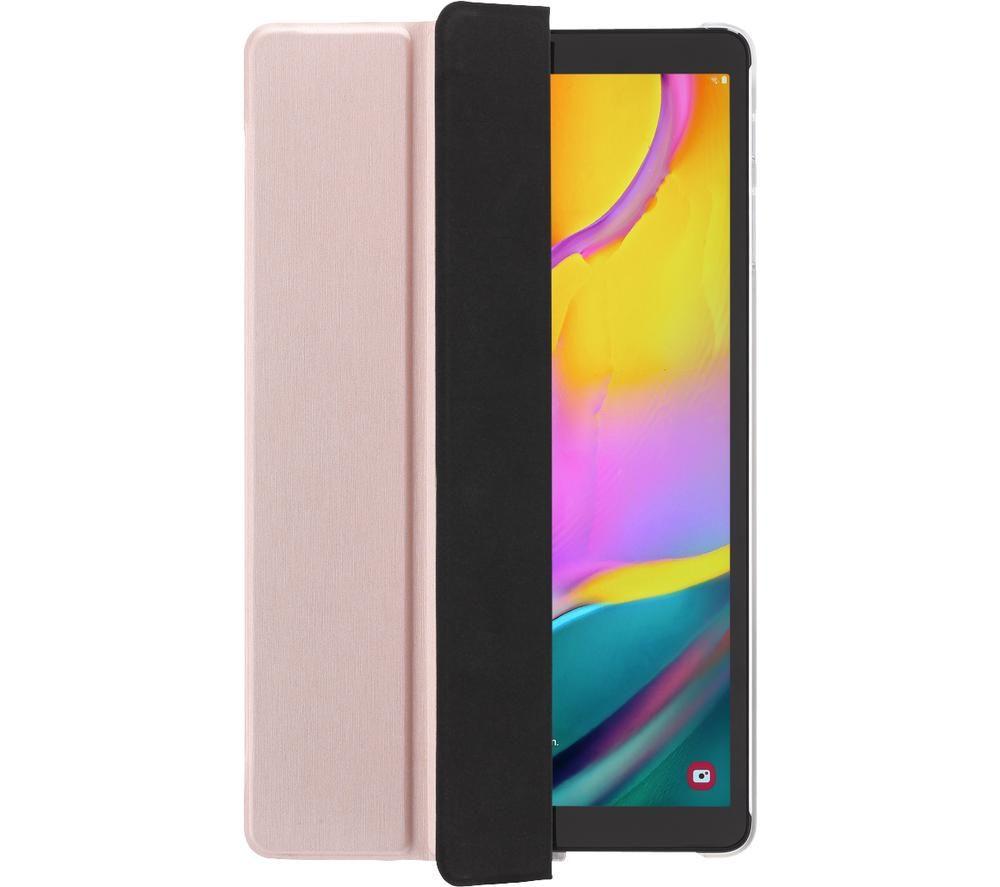 """HAMA Essential Fold Clear 10.4"""" Samsung Galaxy Tab S7 Case - Rose Gold"""