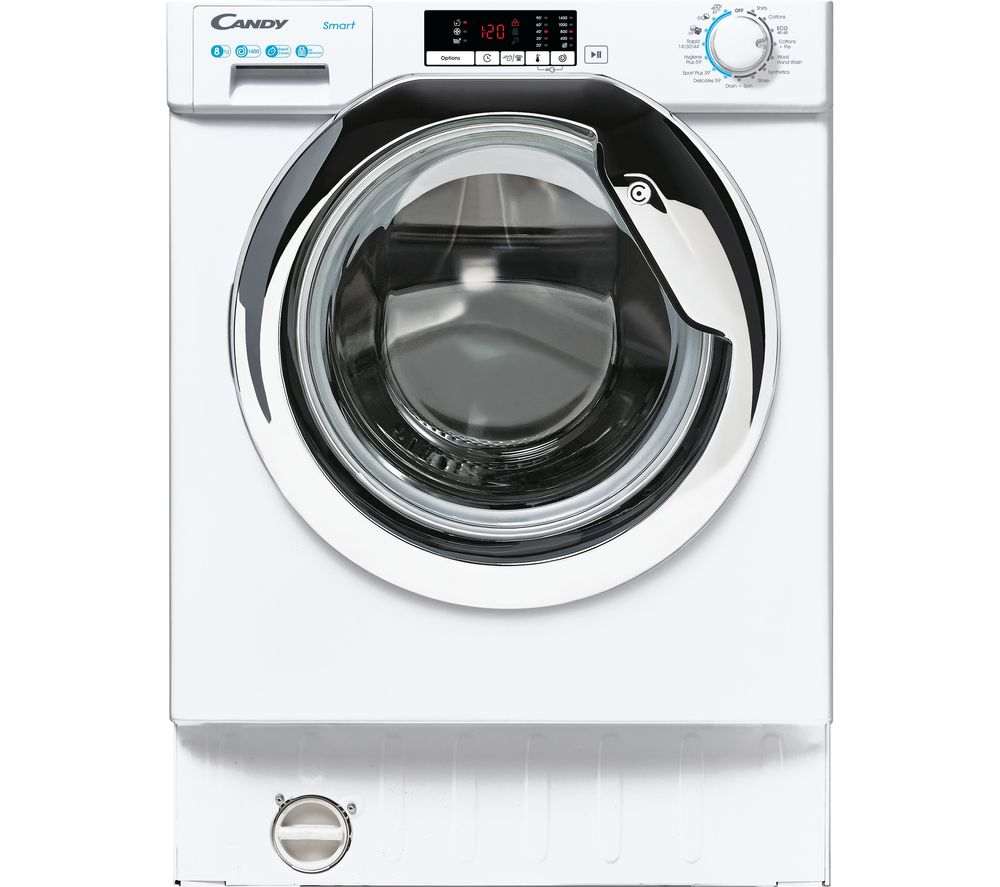 CANDY CBW 48D2XCE Integrated 8 kg 1400 Spin Washing Machine