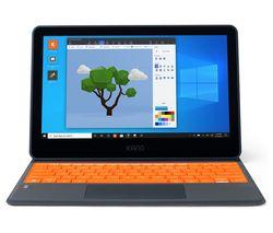 "Build-it-Yourself 11.6"" 2 in 1 Laptop - Intel® Celeron™, 64 GB eMMC, Black & Orange"