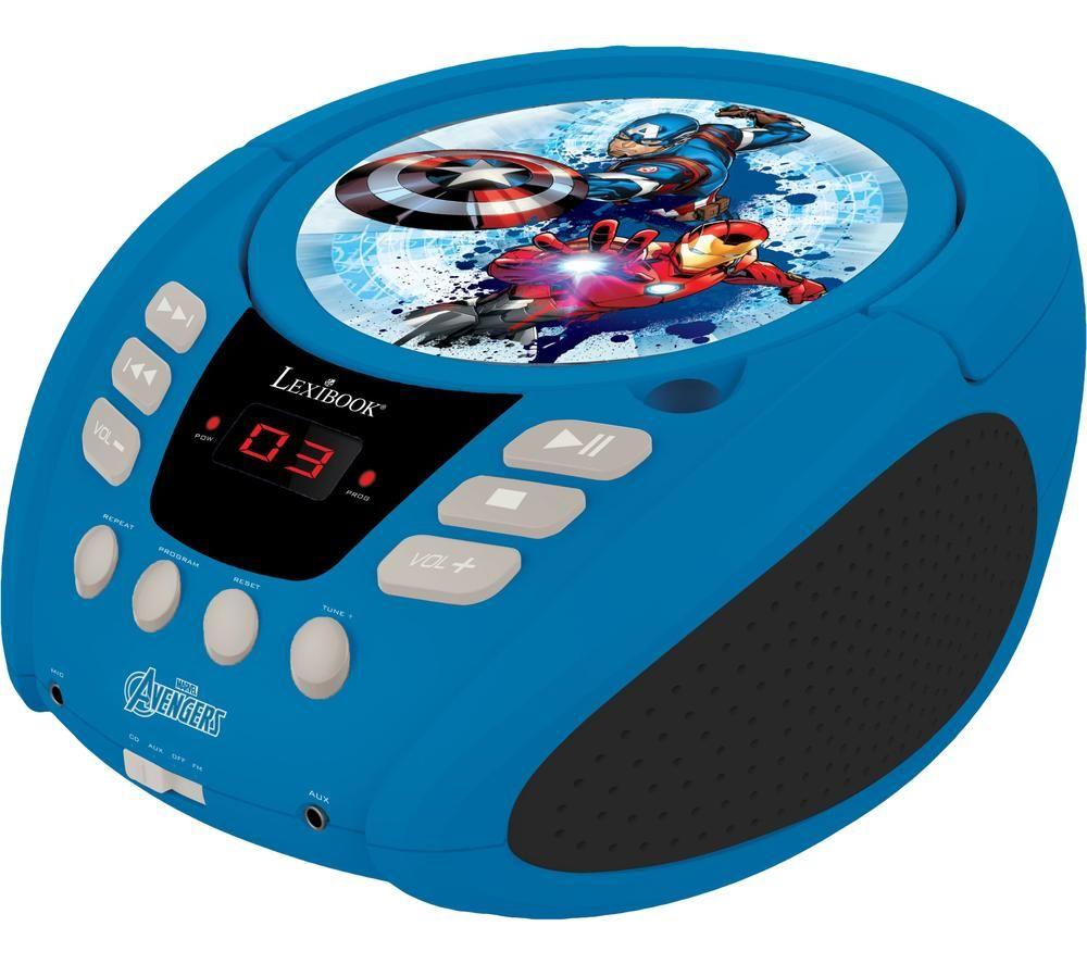 Image of LEXIBOOK RCD108AV Boombox - Avengers Iron Man