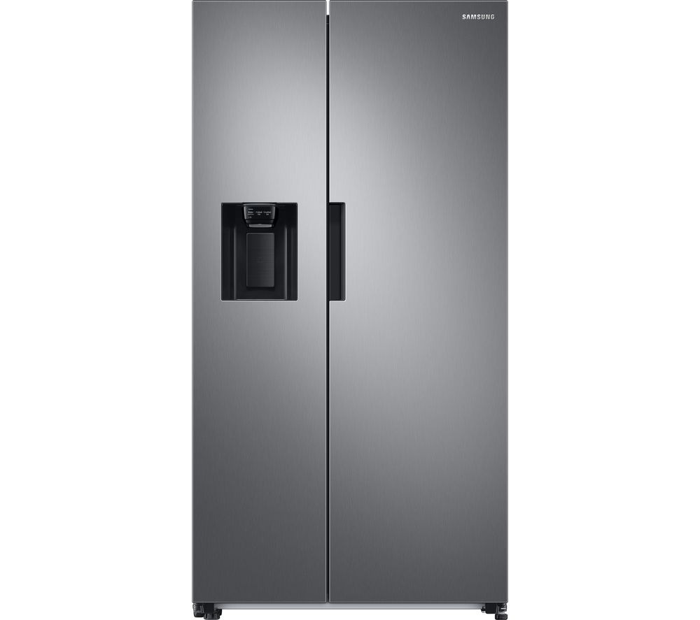 SAMSUNG RS8000 RS67A8810S9/EU American-Style Fridge Freezer - Matte Stainless
