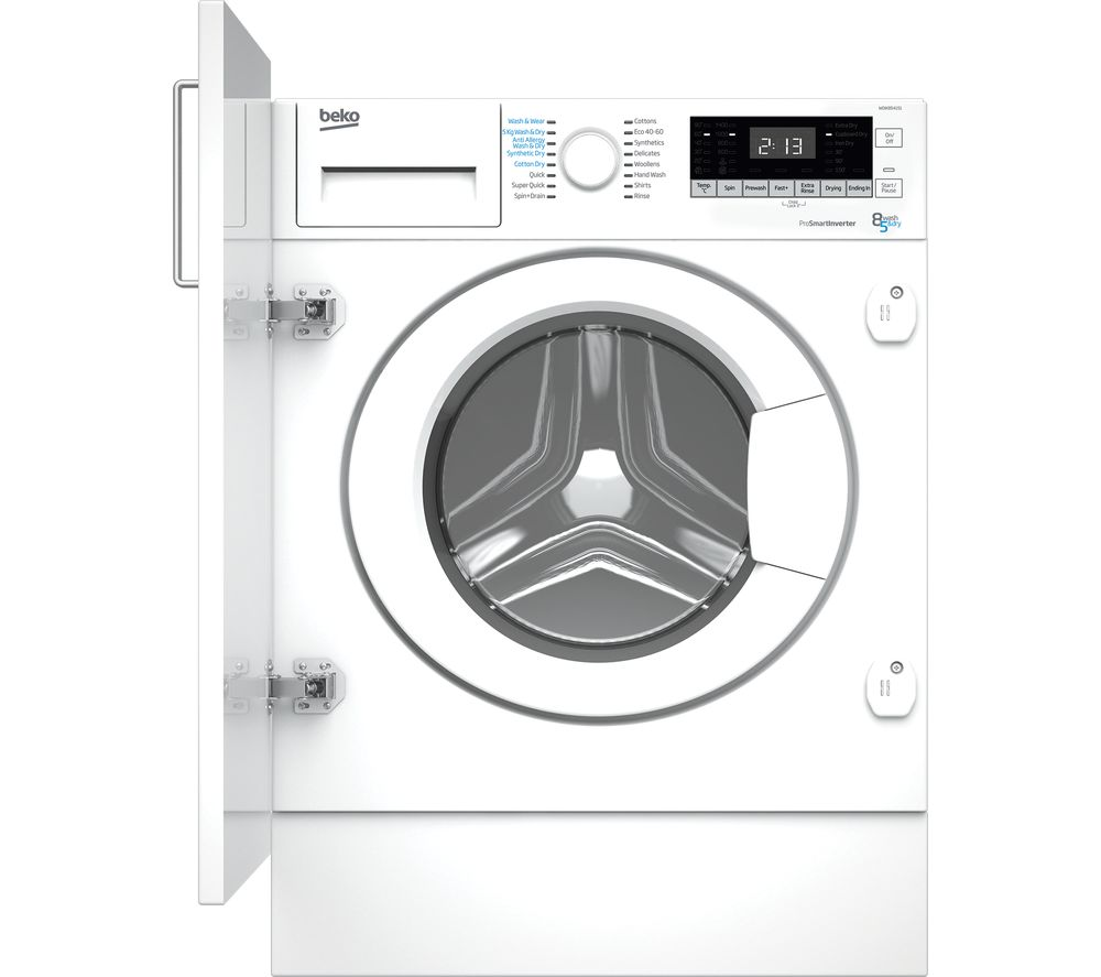 BEKO WDIK854151 Integrated 8 kg Washer Dryer