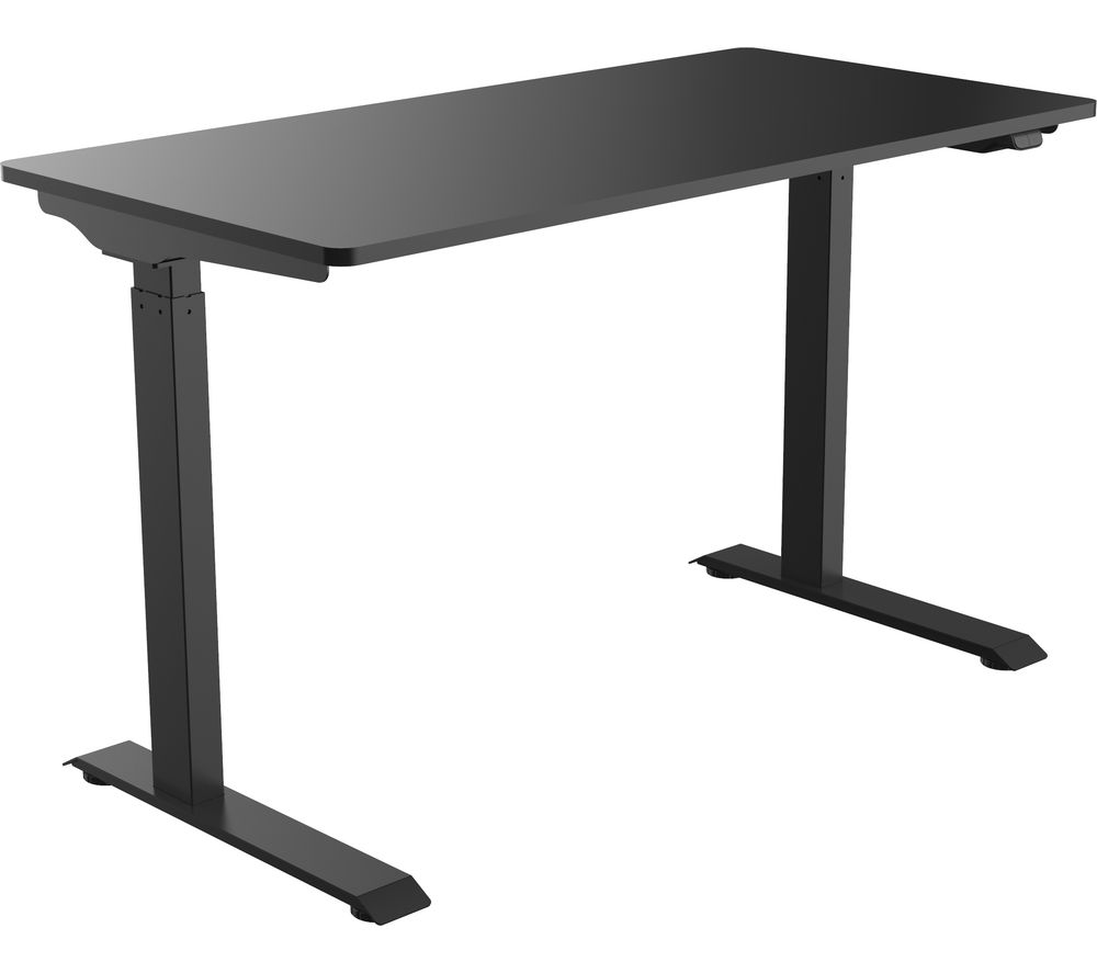 LOGIK LPOWER21 Height Adjustable Desk - Black