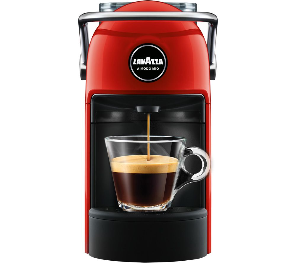 LAVAZZA A Modo Mio Jolie Coffee Machine - Red, Red
