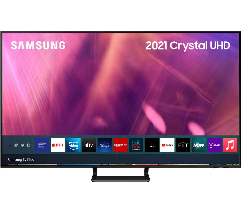 "SAMSUNG UE75AU9007KXXU 75"" Smart 4K Ultra HD HDR LED TV with Bixby, Alexa & Google Assistant"