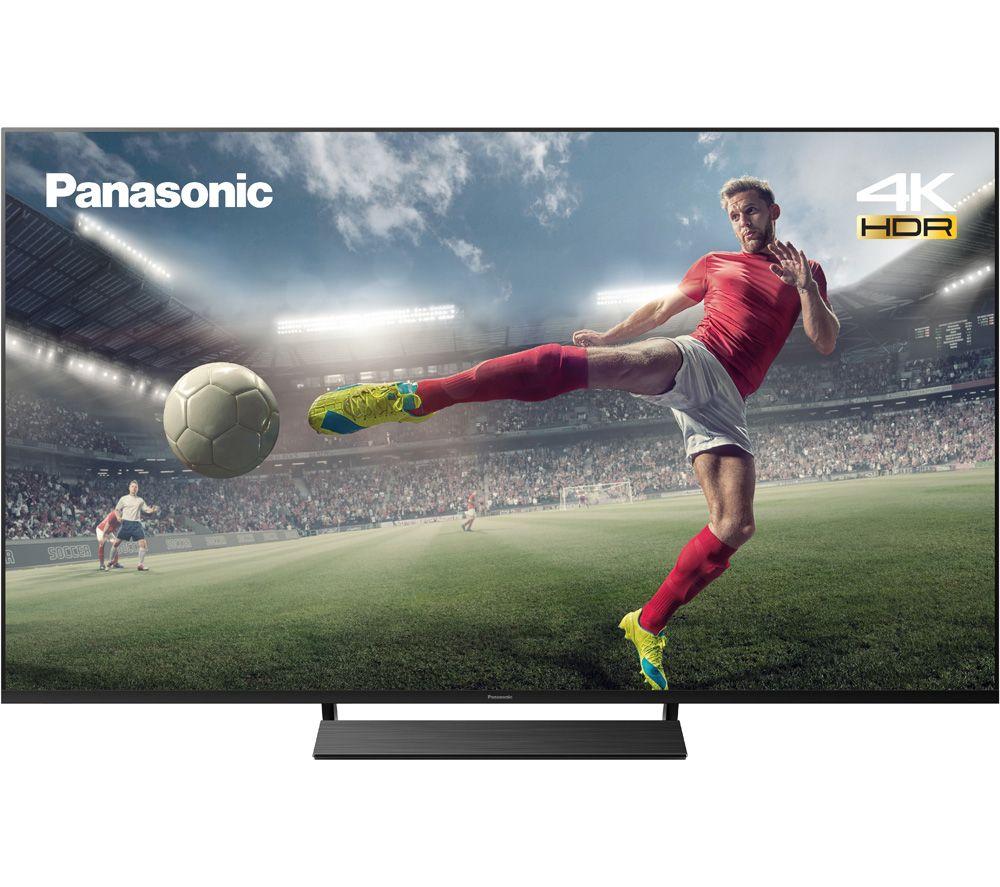 "65"" PANASONIC TX-65JX850B Smart 4K Ultra HD HDR LED TV with Google Assistant & Amazon Alexa"