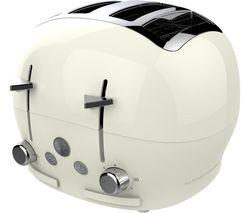 FT01CREAM 4-Slice Toaster - Cream