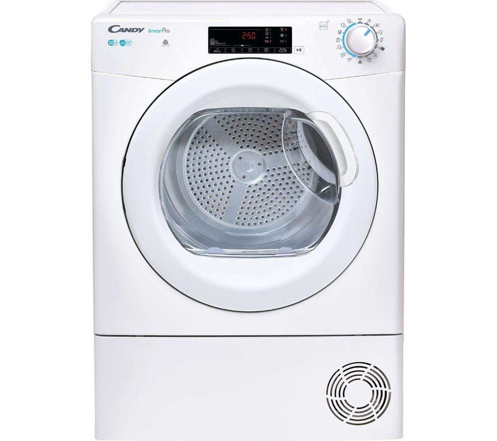 CANDY Smart Pro CSOE C10TG WiFi-enabled 10 kg Condenser Tumble Dryer - White