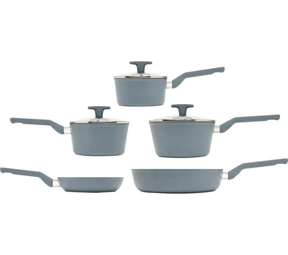 HADEN Perth 197740 5-piece Non-stick Pan Set - Grey