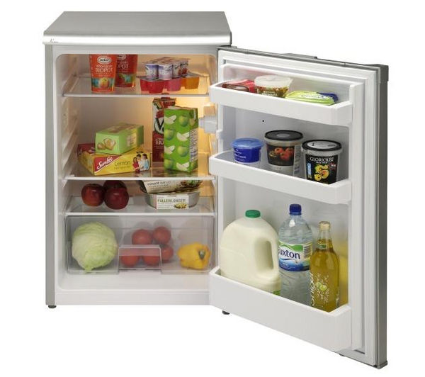 buy beko lx5053s undercounter fridge silver free. Black Bedroom Furniture Sets. Home Design Ideas