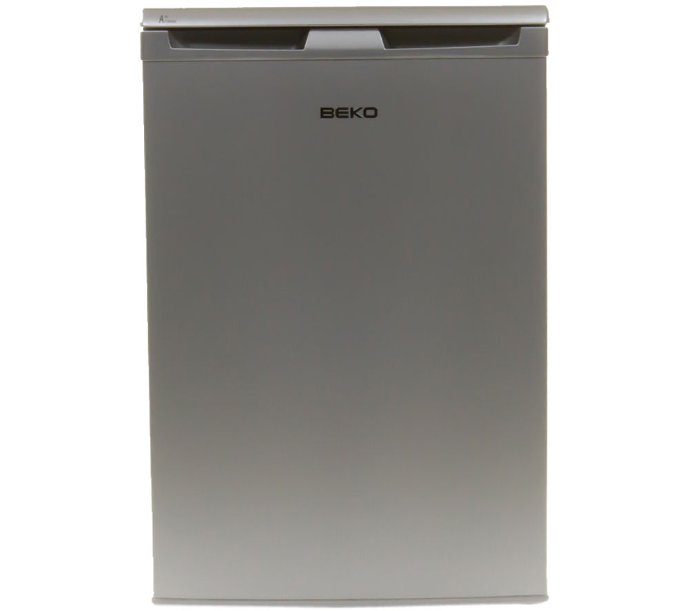 BEKO LX5053S Undercounter Fridge - Silver + Select DSX83410W Heat Pump Tumble Dryer - White
