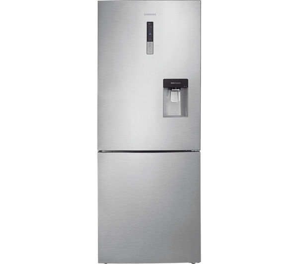 Image of SAMSUNG RL4362RBASL/EU 60/40 Fridge Freezer - Easy Clean Steel