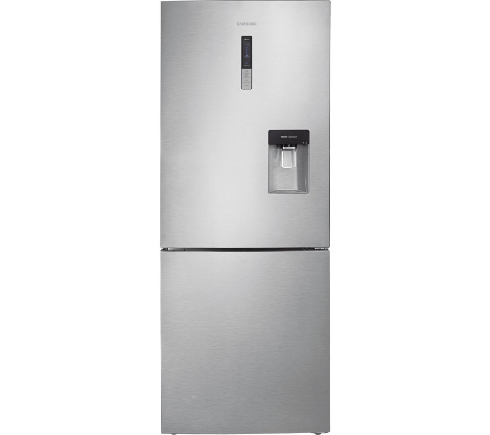 SAMSUNG RL4362RBASL/EU 60/40 Fridge Freezer - Easy Clean Steel