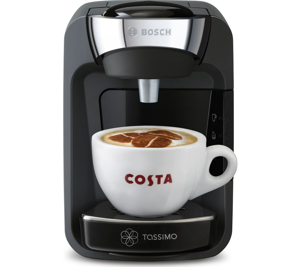 buy tassimo by bosch suny coffee machine black free delivery currys. Black Bedroom Furniture Sets. Home Design Ideas