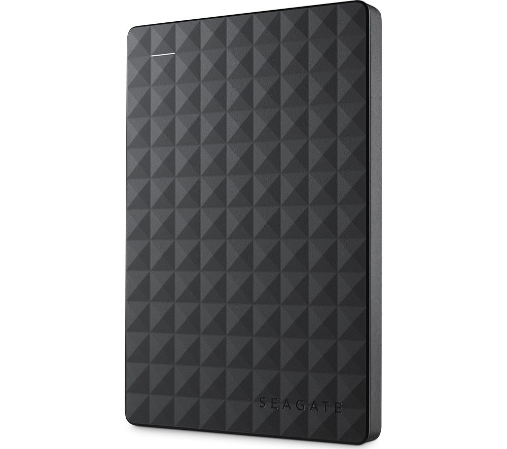 Image of SEAGATE Expansion Portable Hard Drive - 1 TB, Black, Black