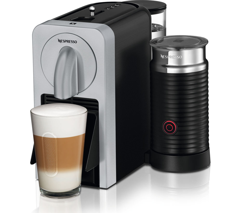 buy nespresso by magimix prodigio 11376 smart coffee machine silver free delivery currys. Black Bedroom Furniture Sets. Home Design Ideas