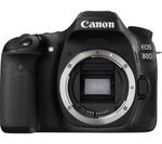 CANON EOS 80D DSLR Camera - Black, Body Only