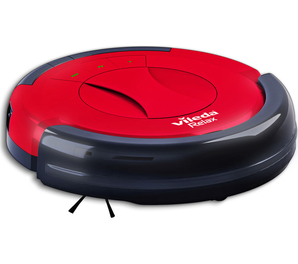 Buy Vileda 145096 Relax Robot Vacuum Cleaner Red Amp Black