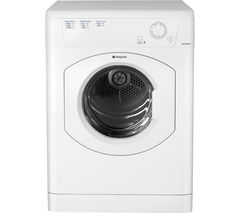 HOTPOINT Aquarius TVHM80CP Vented Tumble Dryer - White