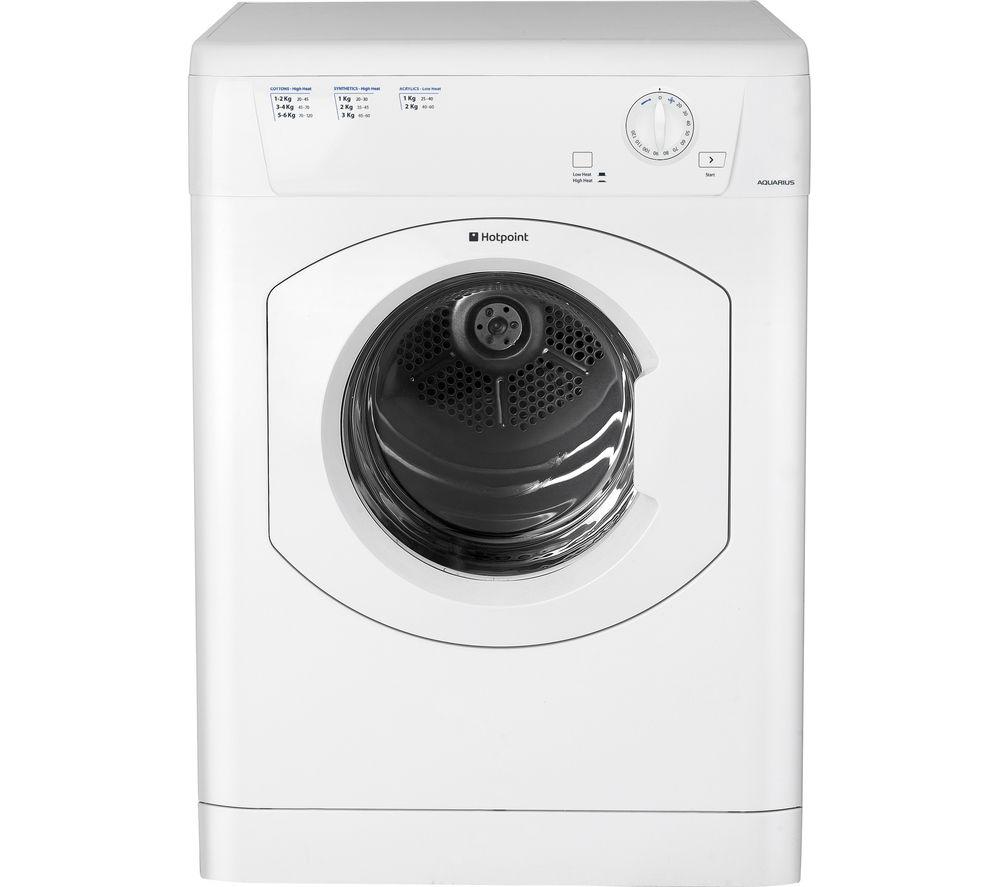 Bwe Tumble Dryer ~ Buy hotpoint aquarius tvhm cp vented tumble dryer white