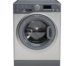 HOTPOINT WDUD9640G Washer Dryer - Graphite