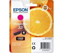 EPSON No. 33 Oranges Magenta Ink Cartridge