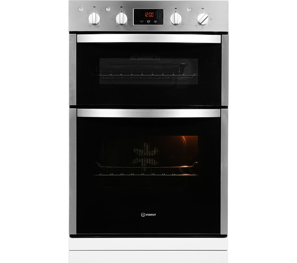 Compare prices for Indesit Aria DDD5340CIX Electric Double Oven