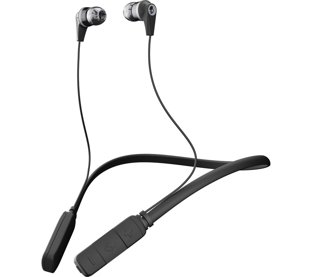 SKULLCANDY Ink'd Wireless Bluetooth Headphones - Black & Grey