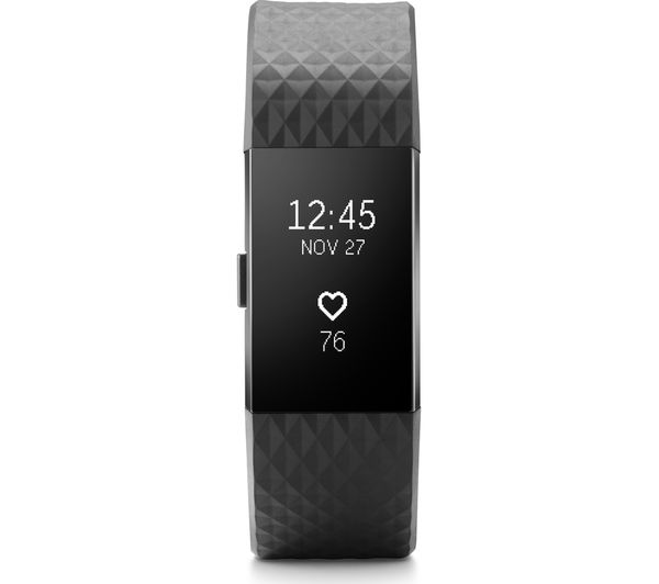 Buy FITBIT Charge 2 - Gunmetal, Small | Free Delivery | Currys
