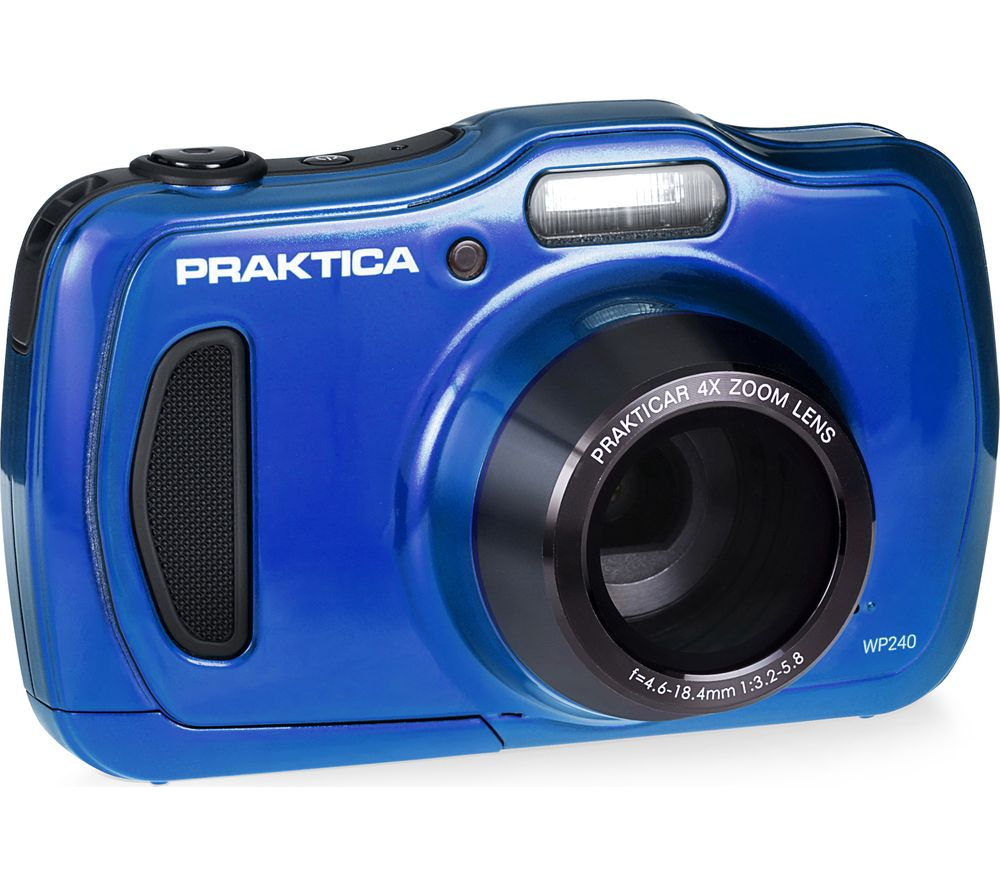 Click to view product details and reviews for Praktica Luxmedia Wp240 Bl Compact Camera Blue Blue.