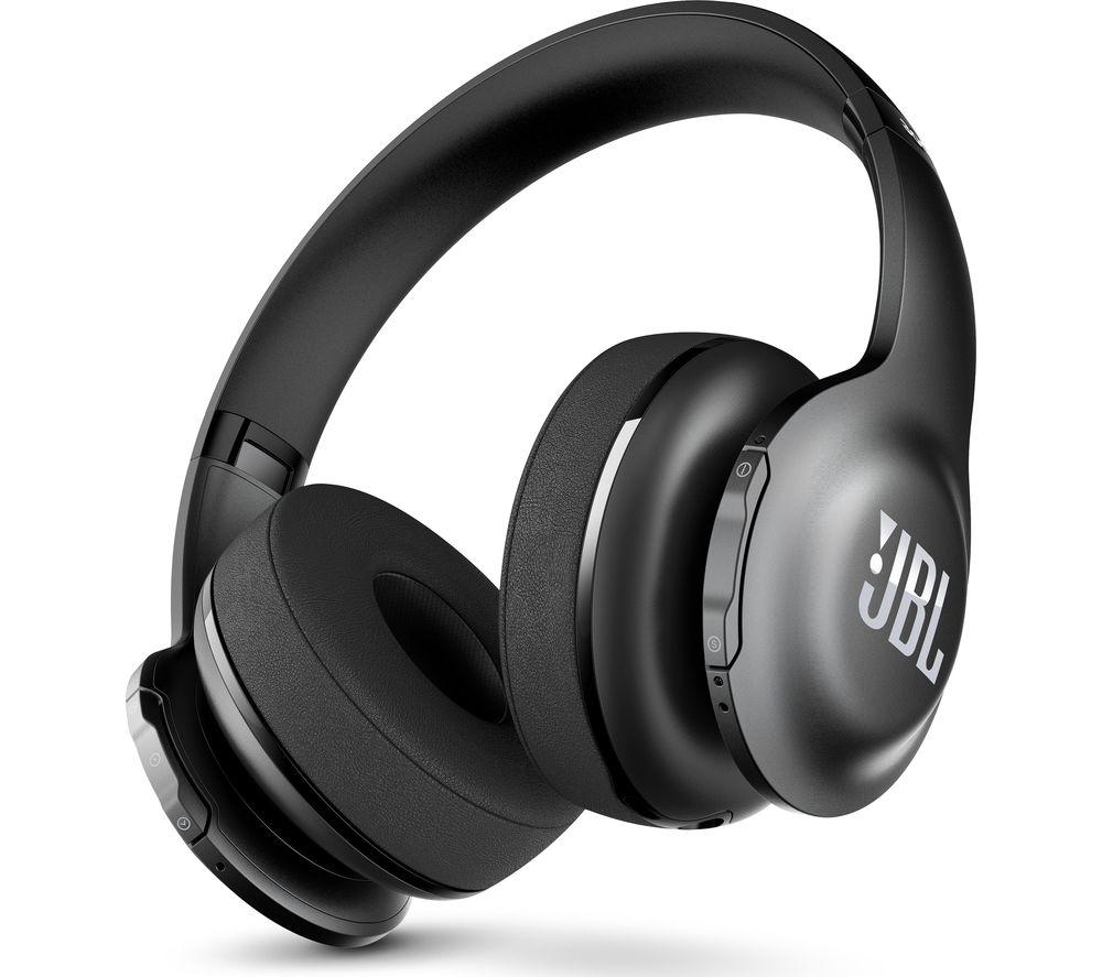 JBL Everest 300BT Wireless Bluetooth Headphones - Black