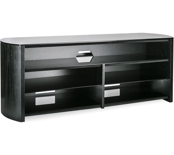 Alphason Finewoods Soundbar 1350 Tv Stand Black