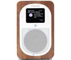 PURE Evoke H3 Portable DAB/FM Bluetooth Radio - Walnut