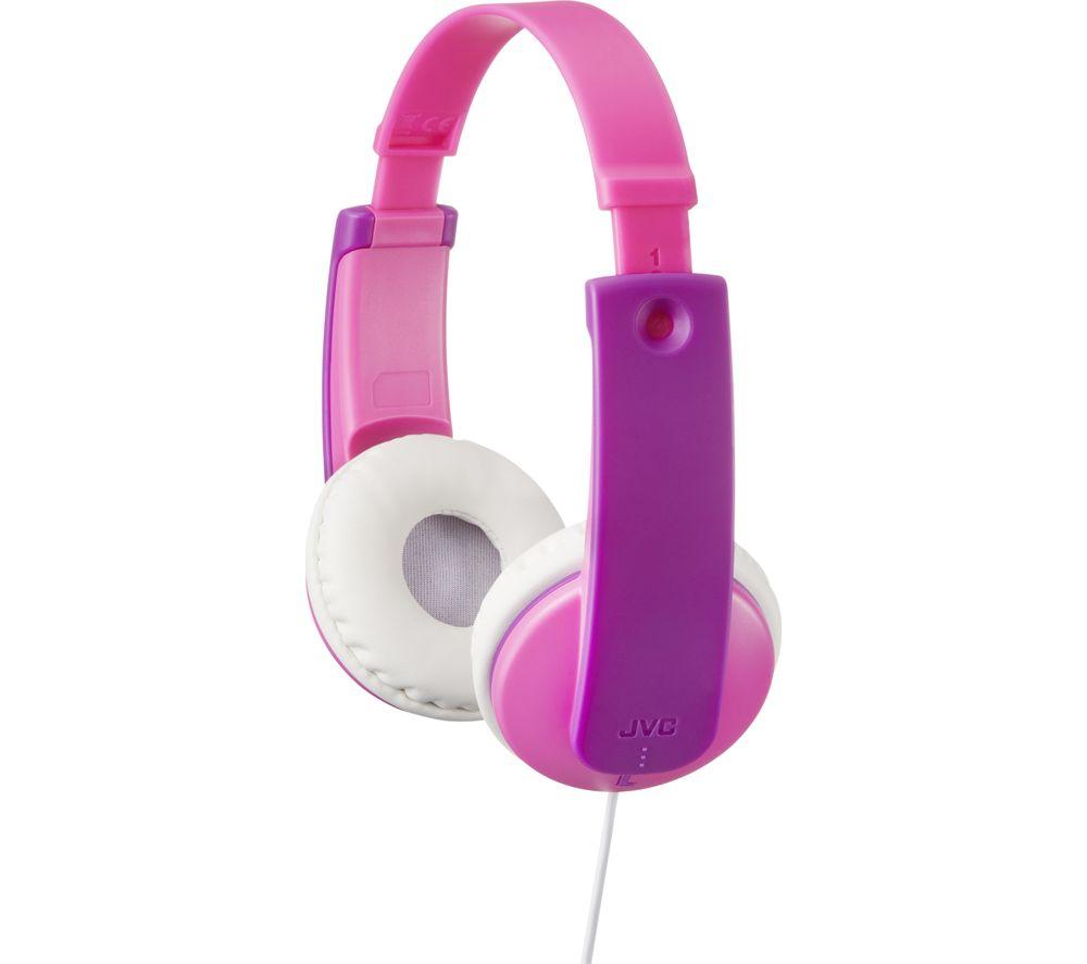 JVC Tinyphones HA-KD7 Kids Headphones - Pink