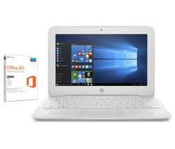 "HP Stream 11-y053na 11.6"" Laptop - White"