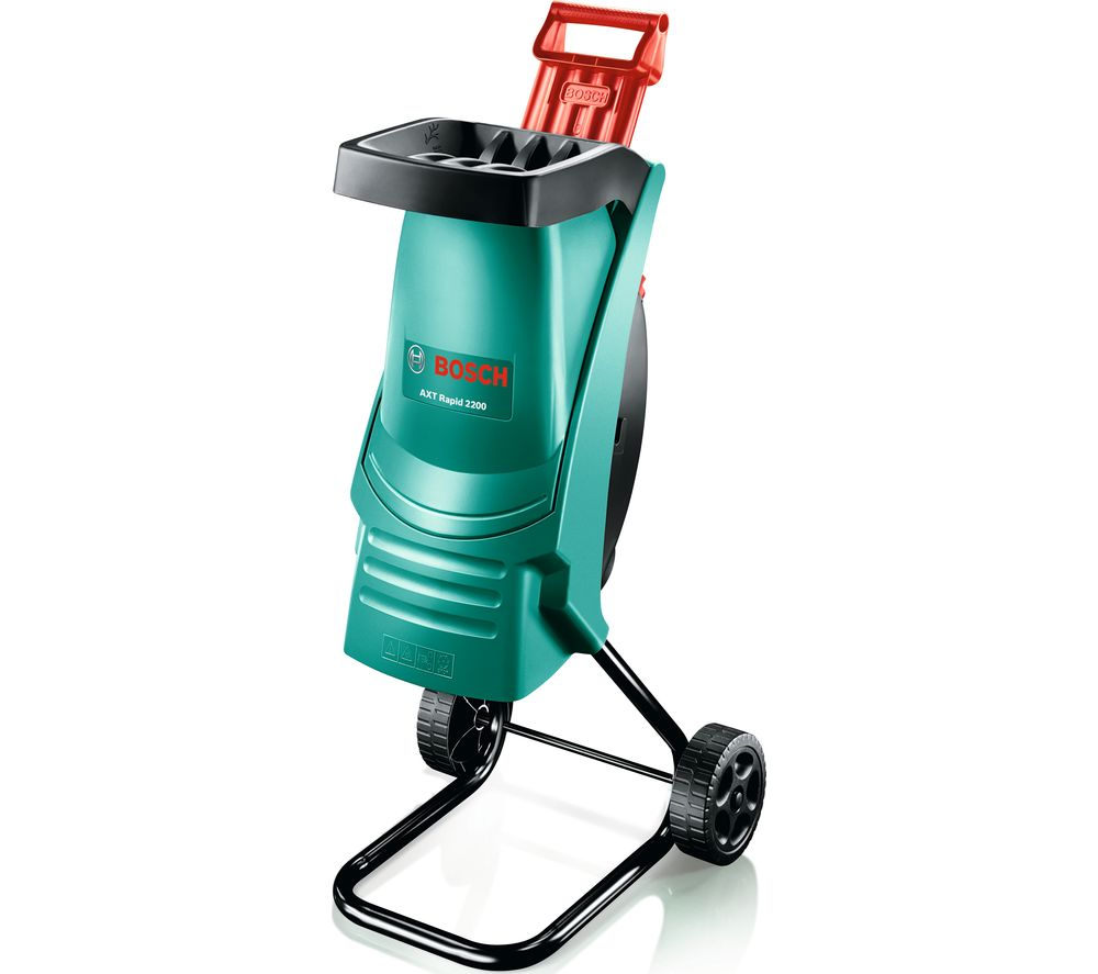 BOSCH AXT Rapid 2200 Shredder - Green & Black