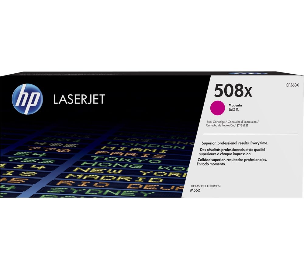 HP 508X High Yield Original LaserJet Magenta Toner Cartridge