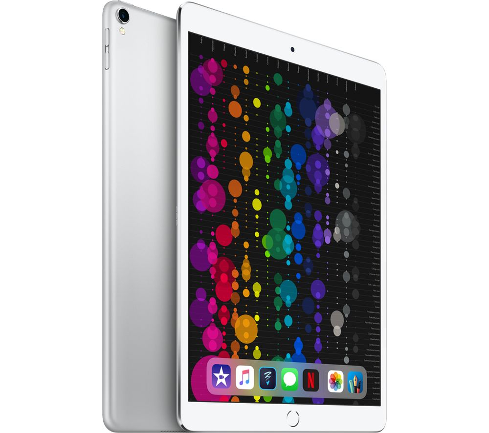 "APPLE 10.5"" iPad Pro - 512 GB, Silver (2017)"