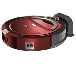 PIFCO Self-Docking P28027 Robot Vacuum Cleaner - Red