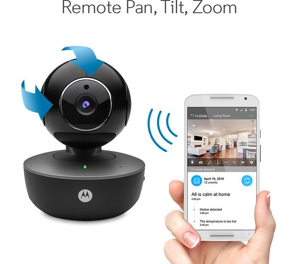 MOTOROLA Focus 88 Smart Security Camera