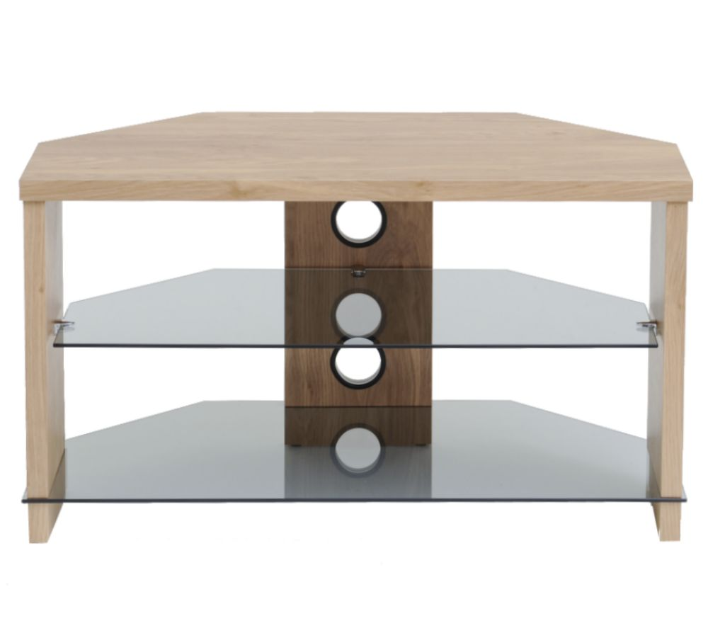 Image of TTAP Montreal 800 mm TV Stand - Oak
