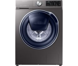 SAMSUNG QuickDrive WW80M645OPX Smart 8 kg 1400 Spin Washing Machine - Graphite