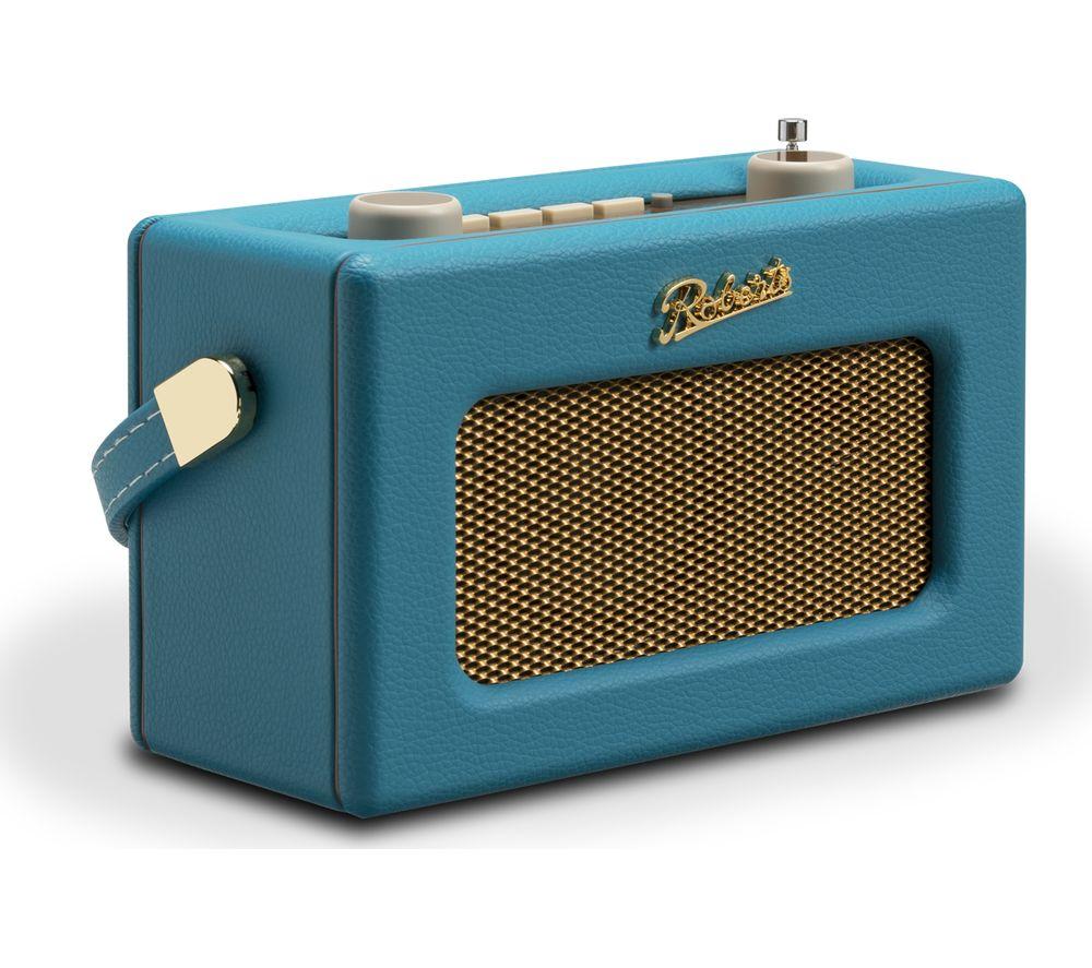 Compare prices for Roberts Revival Uno Retro Portable Clock Radio - Blue