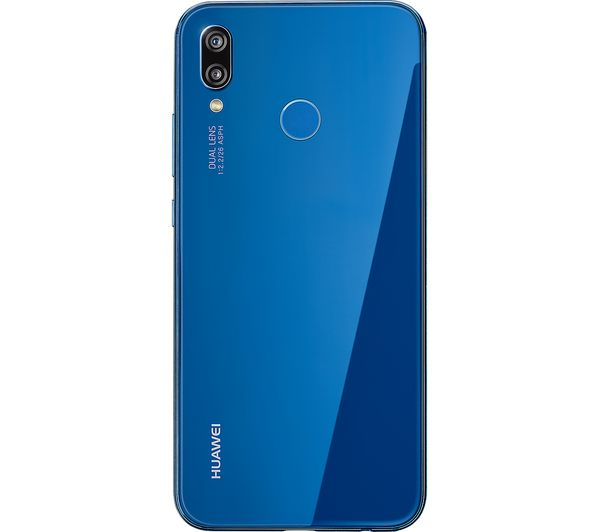 buy huawei p20 lite 64 gb blue free delivery currys. Black Bedroom Furniture Sets. Home Design Ideas